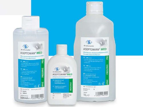 Aseptoman med, 500 ml, Handdesinfektion